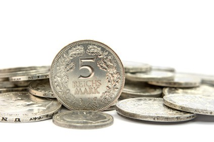 5 und 10 Mark aus Silber verkaufen