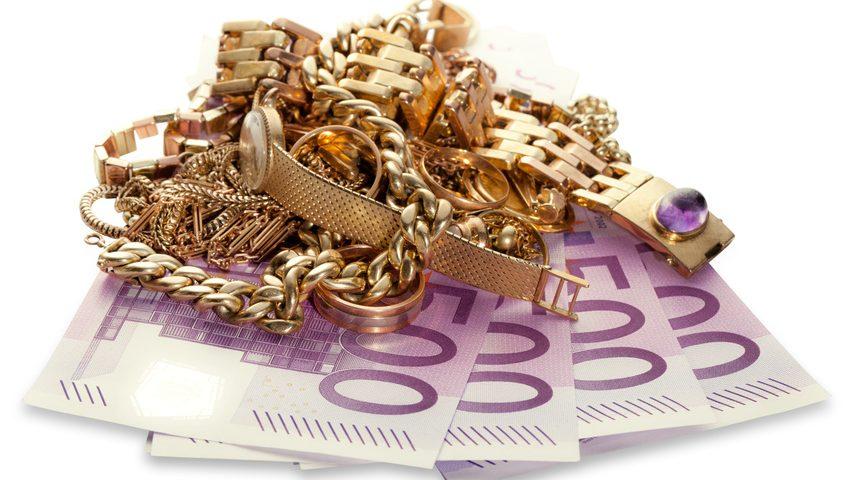 Goldschmuck verkaufen und sofort Bargeld